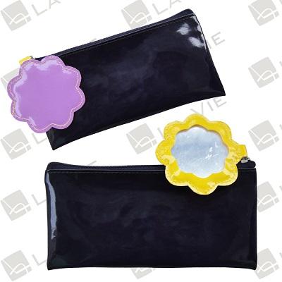 Shiny pu pouch