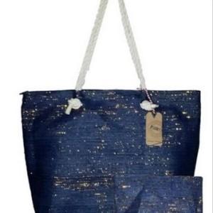 glitter beach bags